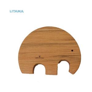 استند چوبی فیل