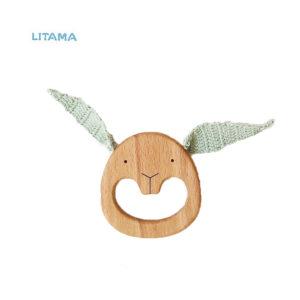 دندانگیر چوبی خرگوش LASER CUT STUDIO