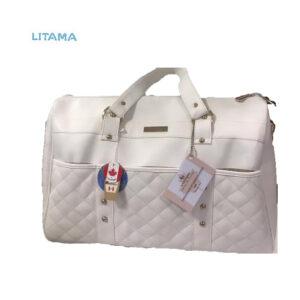 کیف مادر و نوزاد طرح آلیس Louis Angels رنگ سفید