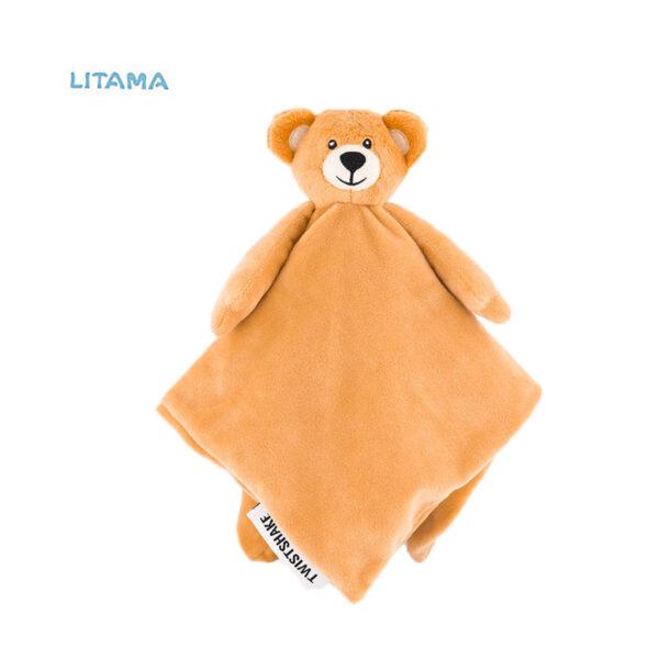 پتو کودک تویست شیک طرح خرس تدی