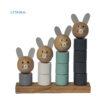 جورچین خرگوش چوبی دریم لند دیزاین