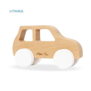 ماشین اسباب بازی چوبی هیپو تویز مدل Offroad