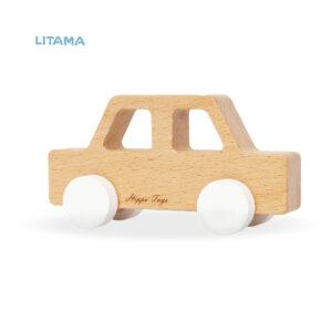 ماشین اسباب بازی چوبی هیپو تویز مدل Cedan
