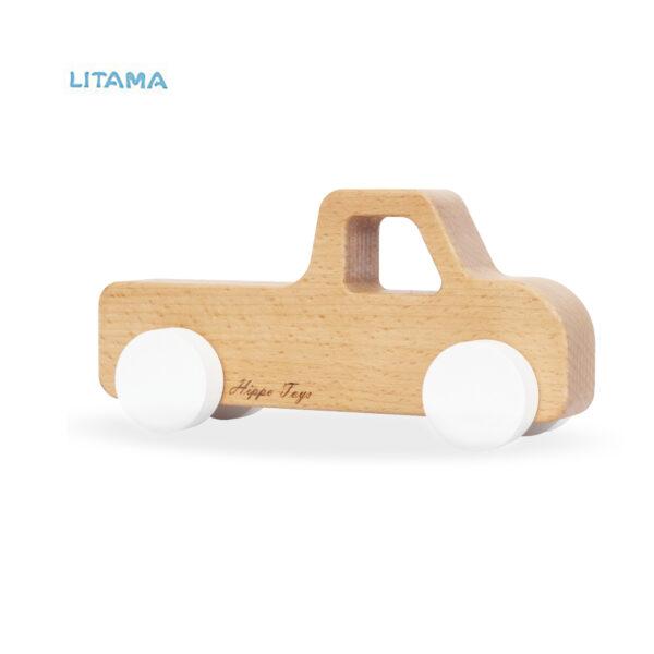 ماشین اسباب بازی چوبی هیپو تویز مدل Pickup