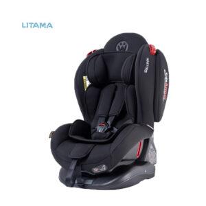 صندلی ماشین کودک تاج دار ولدون Welldon مدل آتلانتیس رنگ مشکی
