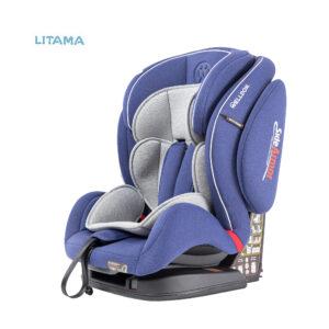 صندلی ماشین کودک ولدون Welldon مدل ریسر رنگ آبی