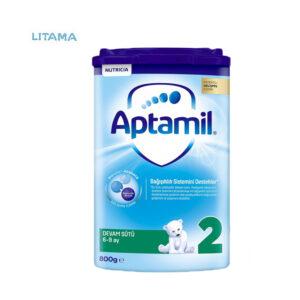 شیر خشک آپتامیل 2 APTAMIL 800 گرمی